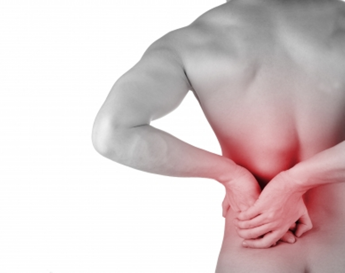 Man Suffering from Herniated Disc Pain